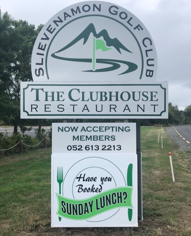 The Clubhouse Restaurant at Slievenamon Golf Club